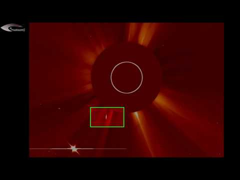 Unidentified objects (UFOs) and anomalies near the Sun and the Solar space – April 1, 2013
