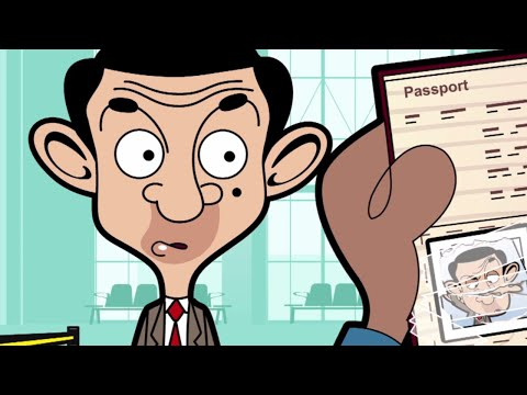 Passport   Funny Episodes   Mr Bean Official Cartoon