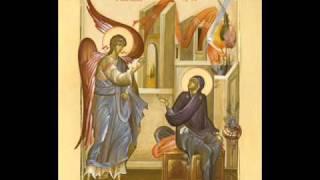 Muzikë Bizantine Shqip - Gëzohu O Hirplotë - Psal: Theodhor Peci.wmv