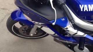 7. 2001 Yamaha YZF R6 Champions Edition