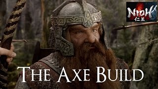 Cool build I've been using for the past couple of days.  Doesn't rely on Sloth or Living Weapon shenanigans!  Hope everyone enjoys! ^__^  Build details below:---------------------------------------------------------Mononobe Axe (reforged for +Ki stats, more +divine the better)Kaido Armor (more +divine the better)NiohPet - Atlas Bear (Ki regen and more damage in low Ki)Yasakani MagatamaClan Ryuzoji (optional)Quick-change ScrollCarnage Talisman (ridiculous damage output)Kekkai Talisman (for Ki regen)Regen Talisman---------------------------------------------------------------Nioh is an action role-playing video game developed by Team Ninja for the PlayStation 4. It was released worldwide in February 2017, and was published by Koei Tecmo in Japan and Sony Interactive Entertainment internationally. Gameplay revolves around navigating levels and defeating monsters that have infested an area. Nioh takes place in the early 1600s during a fictionalized version of the Sengoku period, when Japan was in the midst of civil war prior to the ascension of the Tokugawa shogunate. A sailor named William, in pursuit of an enemy, arrives in Japan and is enlisted by Hattori Masanari, servant to Tokugawa Ieyasu, in defeating yōkai that are flourishing in the chaos of war.-------------------------------------------► http://www.facebook.com/manufacturedopinion► http://www.twitter.com/Mopnn► http://twitch.tv/manufacturedopinionBack up sub-box so every Mustache can be notified (FREE):► http://myapp.wips.com/manufactured-opinion-extension
