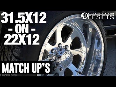 Terra - Custom Offsets Match Up: 22x12 on 31.5x12