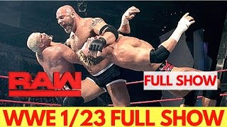 Nonton Wwe Raw 23 Jan 2017 Live   Wwe Monday Night Raw 01 23 17 Film Subtitle Indonesia Streaming Movie Download