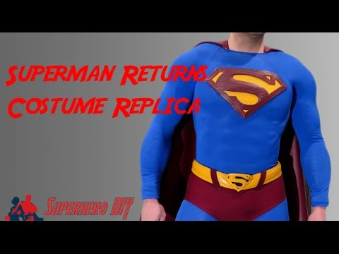 Superman Returns DIY Costume Replica