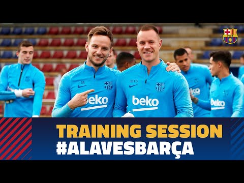 Final Training Session Before The Visit To Alavés