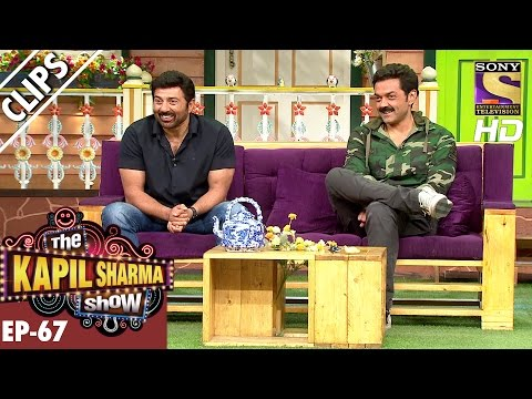 Sunny And Bobby Deol In The Kapil Sharma Show - The Kapil Sharma Show – 11th Dec 2016