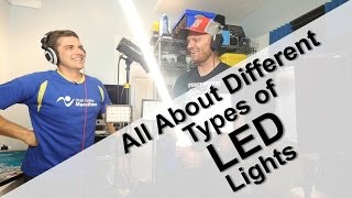 All about different Types of LED lights