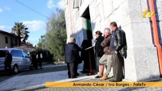 Funeral do emigrante falecido na Suiça