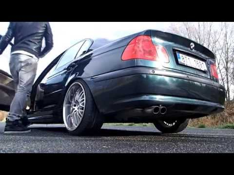 BMW E46 330i static slammed on 19