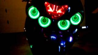 8. The monster ZX-14 all lit up by Jackalbaby