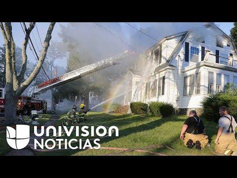 Una serie de explosiones de gas provoca incendios en numerosos edificios al norte de Boston