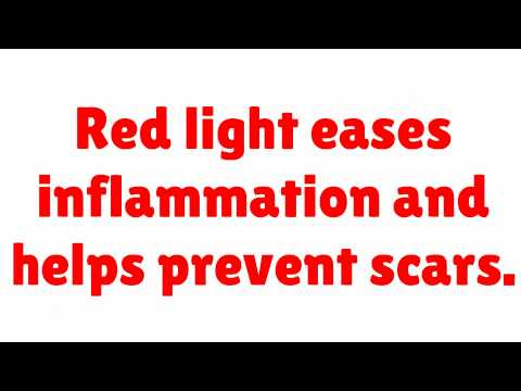 Red Light Therapy and Blue Light LED Acne Treatments via Michael Todd