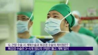 간암의 수술법 비교 미리보기