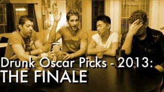 RJ's Drunk Oscar Picks - 2013 (The FINALE)