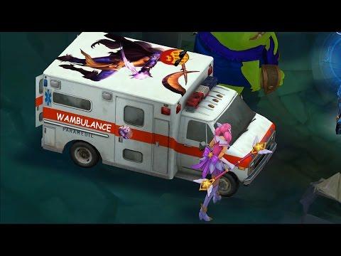 救護車來囉!索拉卡玩家自製Skin