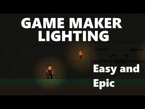 [Game Maker] Easy Lighting Tutorial