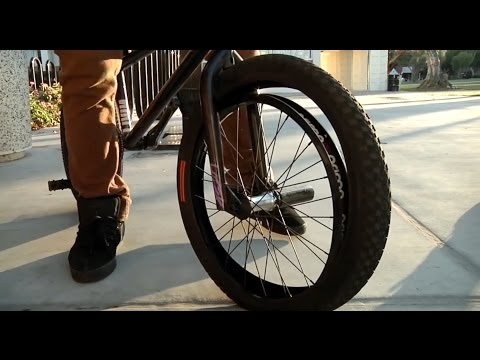 BMX – How To Get Home On A Flat Tire