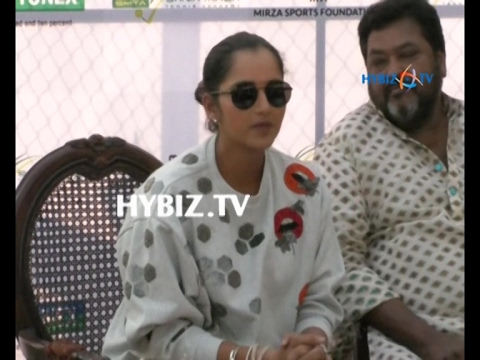 Sania Mirza-Grassroot Level Tennis Academy Launch