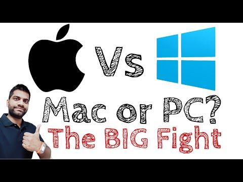 Mac Vs PC   The Big Fight   Fair Comparison