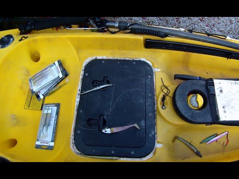 Sidewinder lure & kayak fishing advice. - Cornish Shore and Kayak Fisherman.