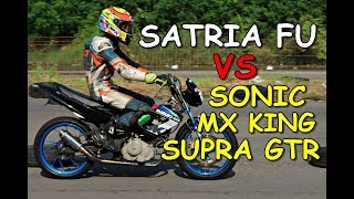 Video SATRIA FU VS MX KING, SONIC & SUPRA GTR road race tawang mas PRPP MP3, 3GP, MP4, WEBM, AVI, FLV September 2018
