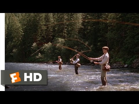 A River Runs Through It (4/8) Movie CLIP - Fishing with Father (1992) HD