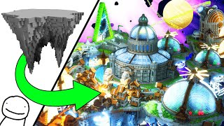 I Spent 500 Hours Building an EPIC Minecraft World For @Dream & @Fundy!