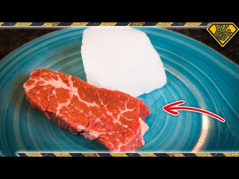Would You Eat FIZZY Steak?
