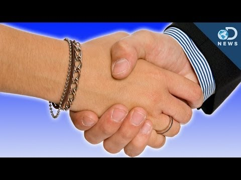 How Handshakes Reveal Your True Age