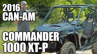 9. TEST RIDE: 2016 Can-Am Commander 1000 XT-P