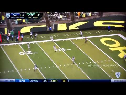 oregon duck - I do not own any of these video clips as they belong to the Pac-12 Network and their broadcast partners. No monetary value is derived from this video. It is ...