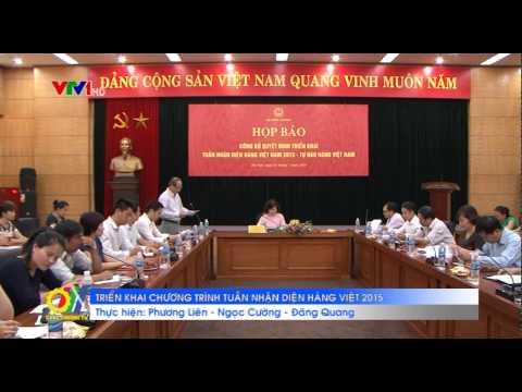 Triển khai chương trình Tuần nhận diện hàng Việt 2015