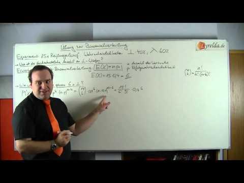 Binomialverteilung -Reißnagel