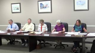 Boothbay Harbor Selectmen Aug 8, 2016
