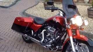 9. 2014 Harley Davidson FLHRSE5 cvo road king screamin eagle