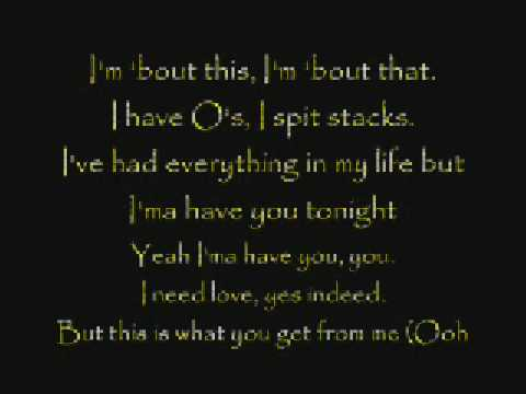 git fresh - blow me a kiss lyrics