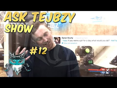 tejbz - ASK TEJBZY Every sunday! Hit the like button and share with your friends to keep the show running! thanks for watching dudes. Love you all! This week Black O...