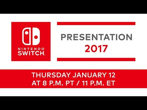 Watch The Nintendo Switch Presentation Live Here!