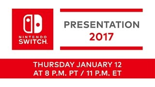 Nintendo Switch Live Presentation