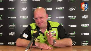 "Van Gerwen: ""It's always nice to beat Gary, when he gets wound up I know I've got under his skin"""