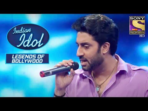 Abhishek ने किया Stage पे Rap   Indian Idol   Legends Of Bollywood