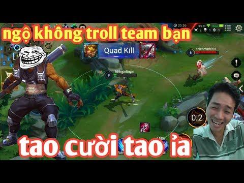Liên Quân _ Cười Chảy Nước Mũi Với Màn Troll Team Bạn Đỉnh Cao | Ngộ Không Best Troll Tái Xuất - Thời lượng: 18:43.