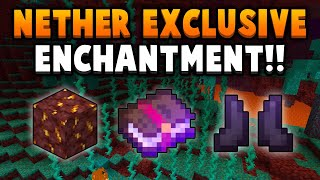 1.16 Just Added A Nether Plant, Ore & ENCHANTMENT