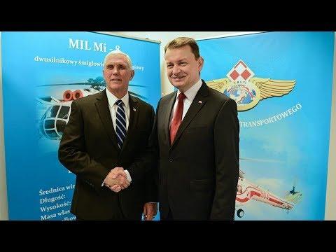Wystąpienie ministra Mariusza Błaszczaka - umowa na system HIMARS dla WP