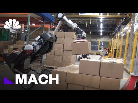 Boston Dynamics robot can stack boxes with amazing ease