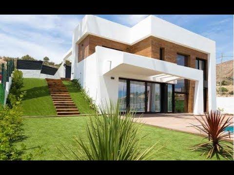¡Nueva villa de lujo en Benidorm! ¡Vista al mar y a las montañas! ¡Villa moderna en España a un precio súper!