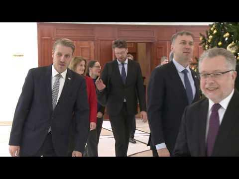 Igor Dodon a avut o întrevedere cu ambasadorii acreditați în Republica Moldova