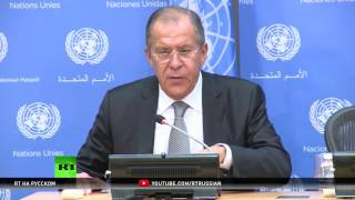 Перемирие в Сирии и обмен разведданными с США: о чем говорил Лавров на Генассамблее ООН