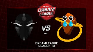 TFT vs  ROOONS, DreamLeague Minor, bo3, game 2 [4се & Eiritel]