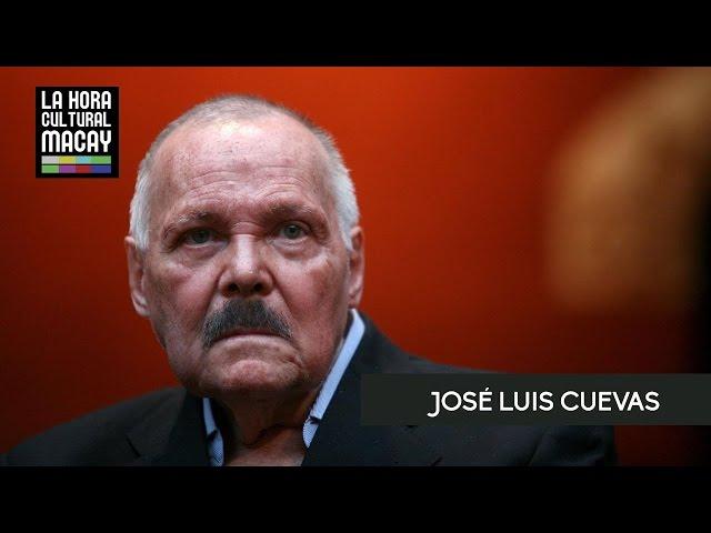 José Luis Cuevas en La Hora Cultural Macay.